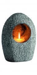 Gravlykt i stein til 2,5 døgns lys eller batterilys Kr. 650,-